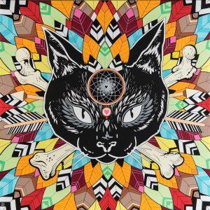 Black cat - Céz Art
