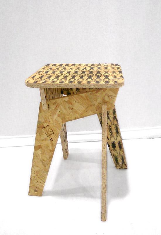 Design tabouret pliable - Smail KANOUTE