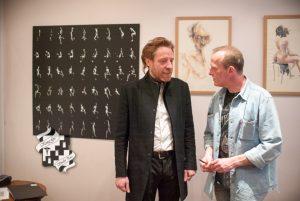 Discussion entre Stefan HOAREAU et Daniel PIERRE dit HUBERT